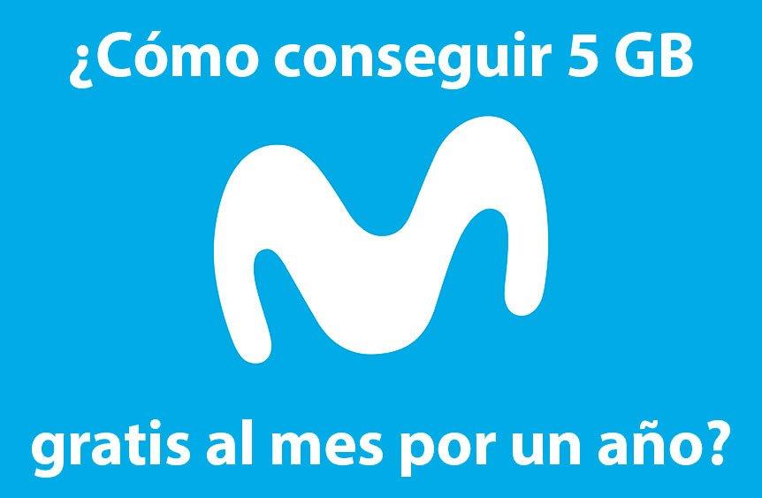 Cómo conseguir los 5 GB al mes gratis de la promoción de Movistar