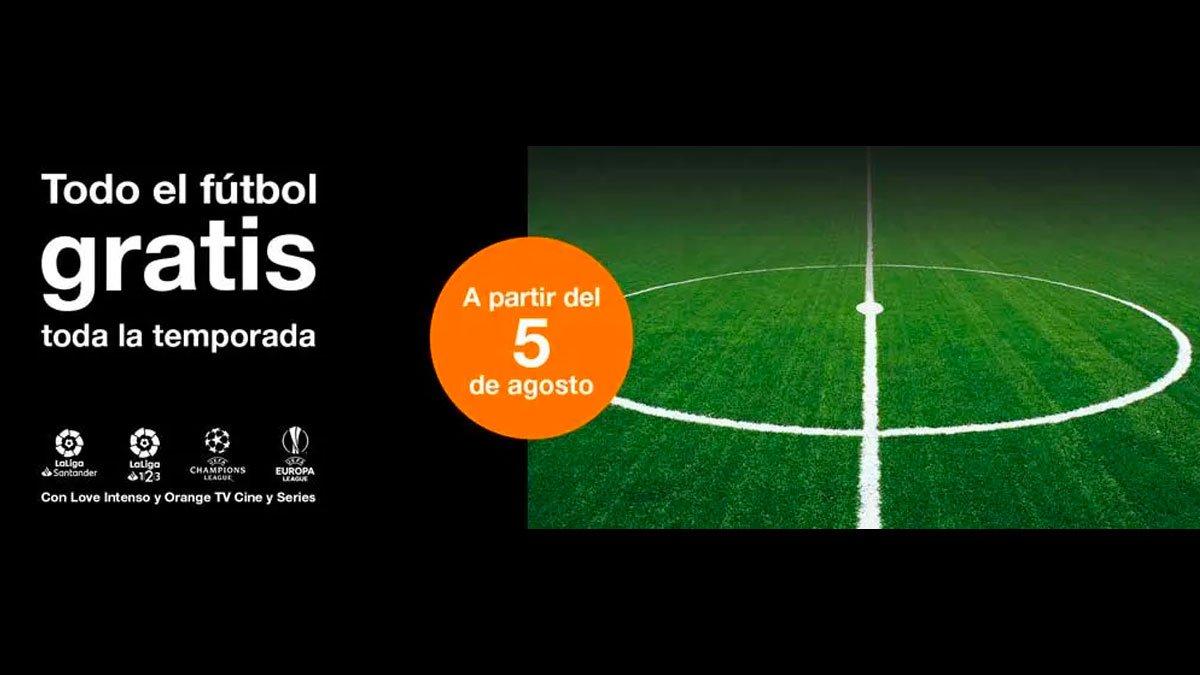 Orange fútbol gratis temporada 2019-20