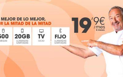 «Rompedora» oferta de fibra, móvil y TV de Euskaltel: letra pequeña y todos los detalles