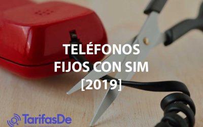 Los mejores teléfonos fijos que funcionan con una SIM [2019]