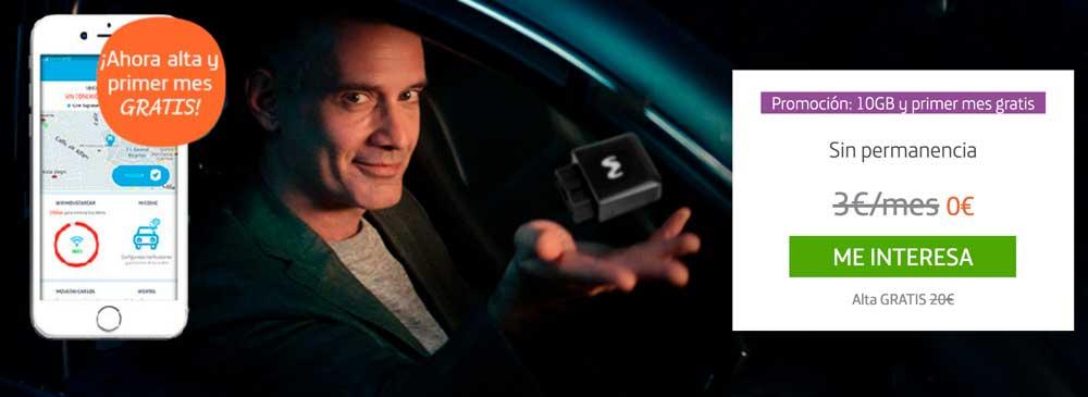 Movistar Car promoción 10 gigas