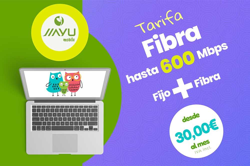 Jiayu tarifas fibra y estudiantes