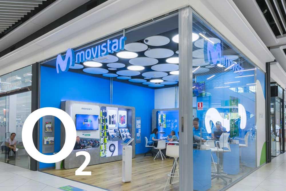 O2 llega ahora a las tiendas de Movistar