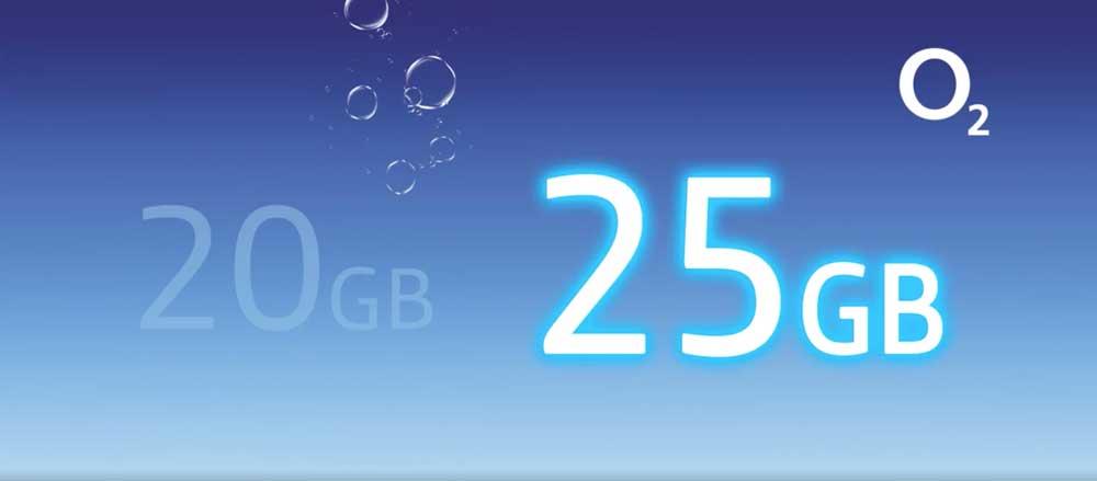 O2 mejora sus tarifas: 5 gigas más al mismo precio