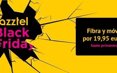 El Black Friday llega a Jazztel: fibra y móviles por 19,95 euros