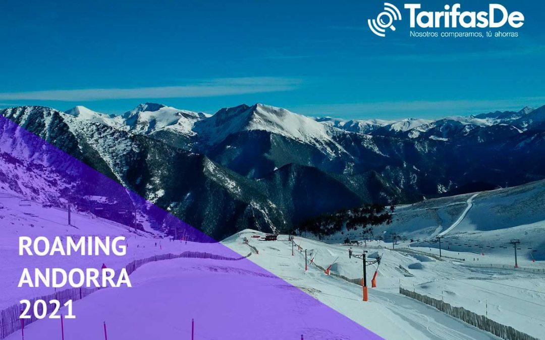 Roaming en Andorra en 2021: precios con todos los operadores y opciones de ahorro