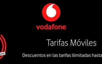 La tarifa Ilimitada Total de Vodafone por 29,99 euros al mes por tiempo limitado