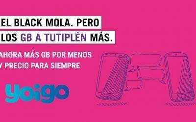 Yoigo renueva sus tarifas móviles: hasta 40 gigas por el mismo precio