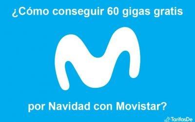 Movistar regala 60 gigas por Navidad: así puedes conseguirlos