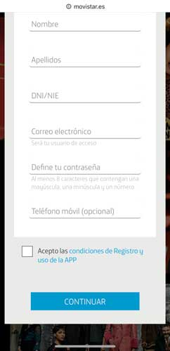 Cómo contratar Movistar Plus Lite, paso 3