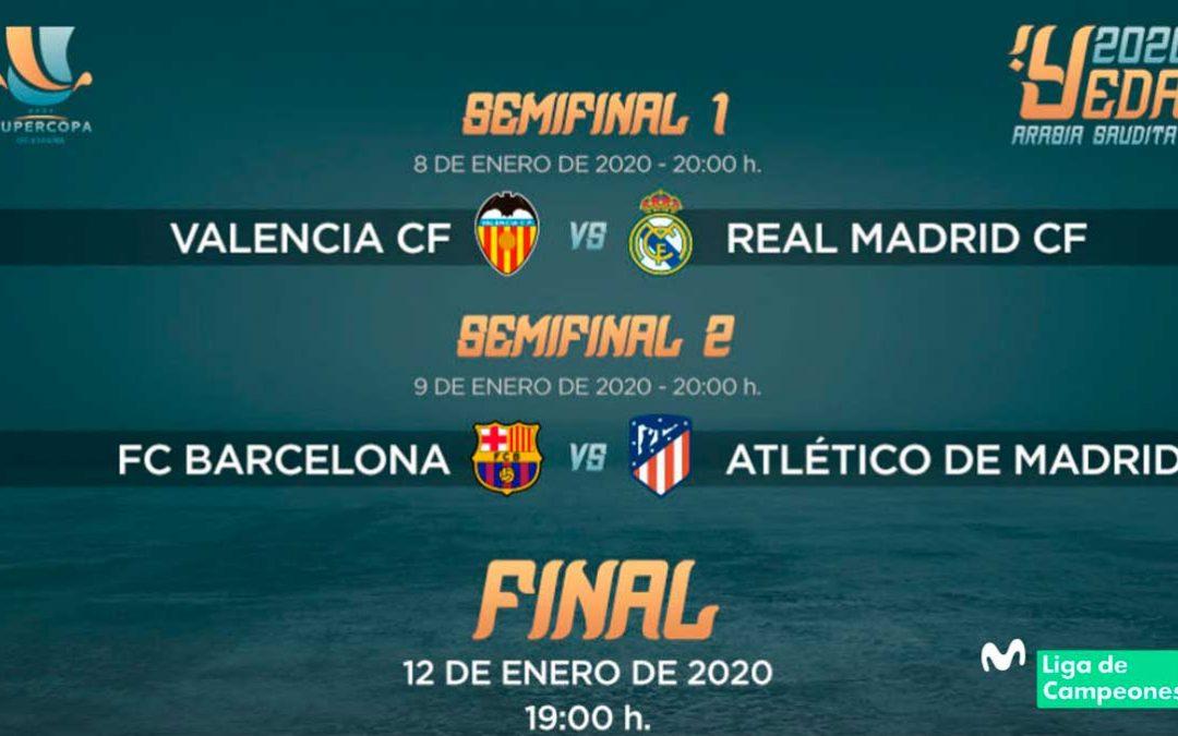 Cómo ver Supercopa de España en Movistar gratis
