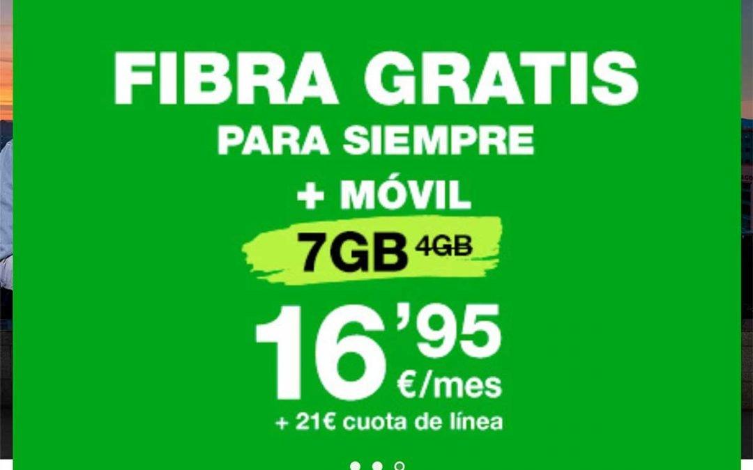 La oferta de Amena de fibra gratis, ¿cómo de gratis es?