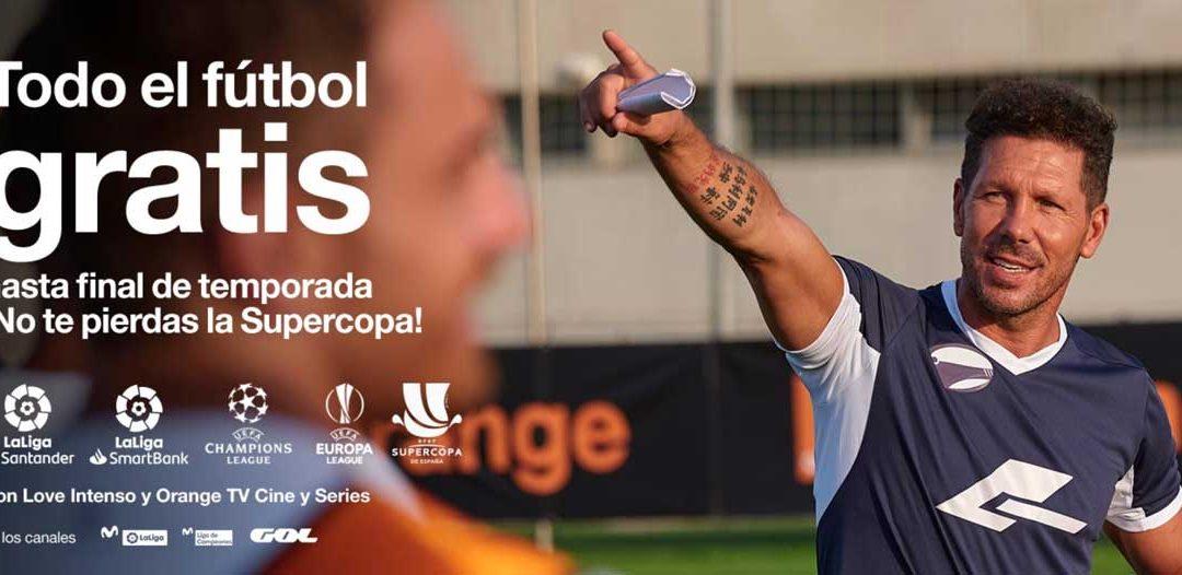 Todo el fútbol gratis con Orange hasta final de temporada: así puedes conseguirlo