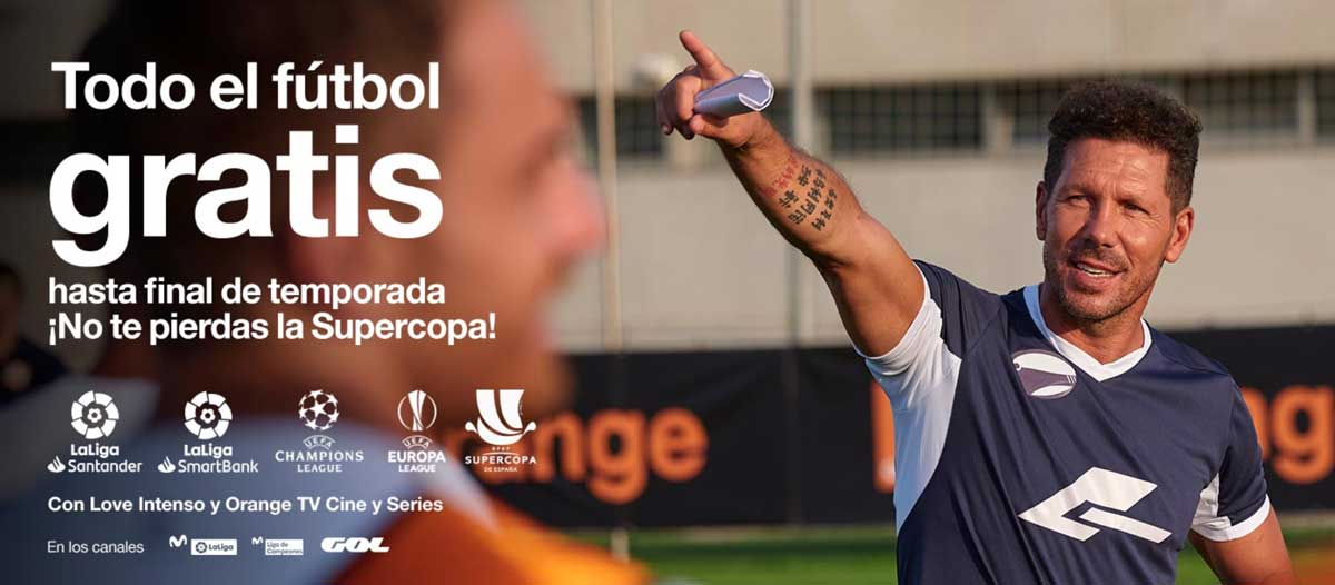 Orange fútbol gratis temporada 2019-2020