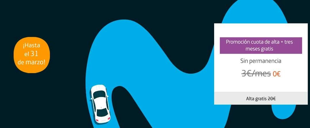 Movistar Car mejora su oferta de bienvenida: ahora con tres meses gratis