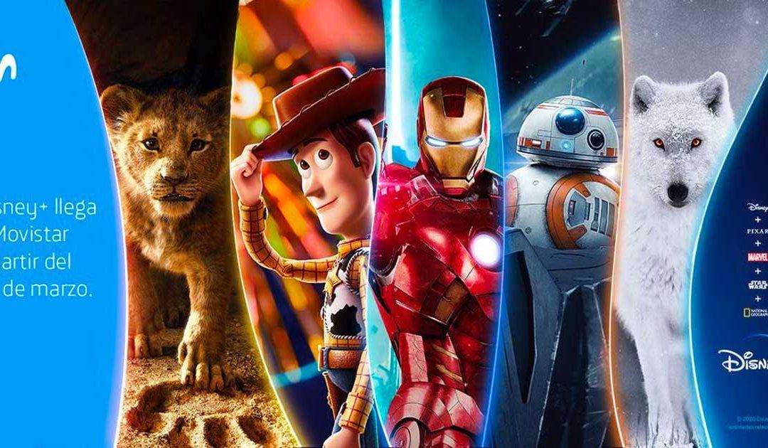 Disney+ en Movistar: gratis para los clientes de algunas Fusiones