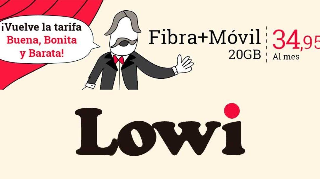 Es la guerra total: Lowi recupera su mejor tarifa de fibra y móvil ante el reto de O2