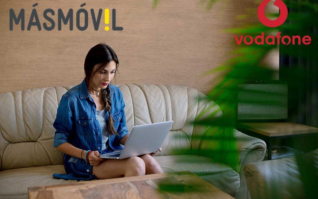 MásMóvil y Vodafone eliminan la permanencia de sus tarifas de fibra por el coronavirus
