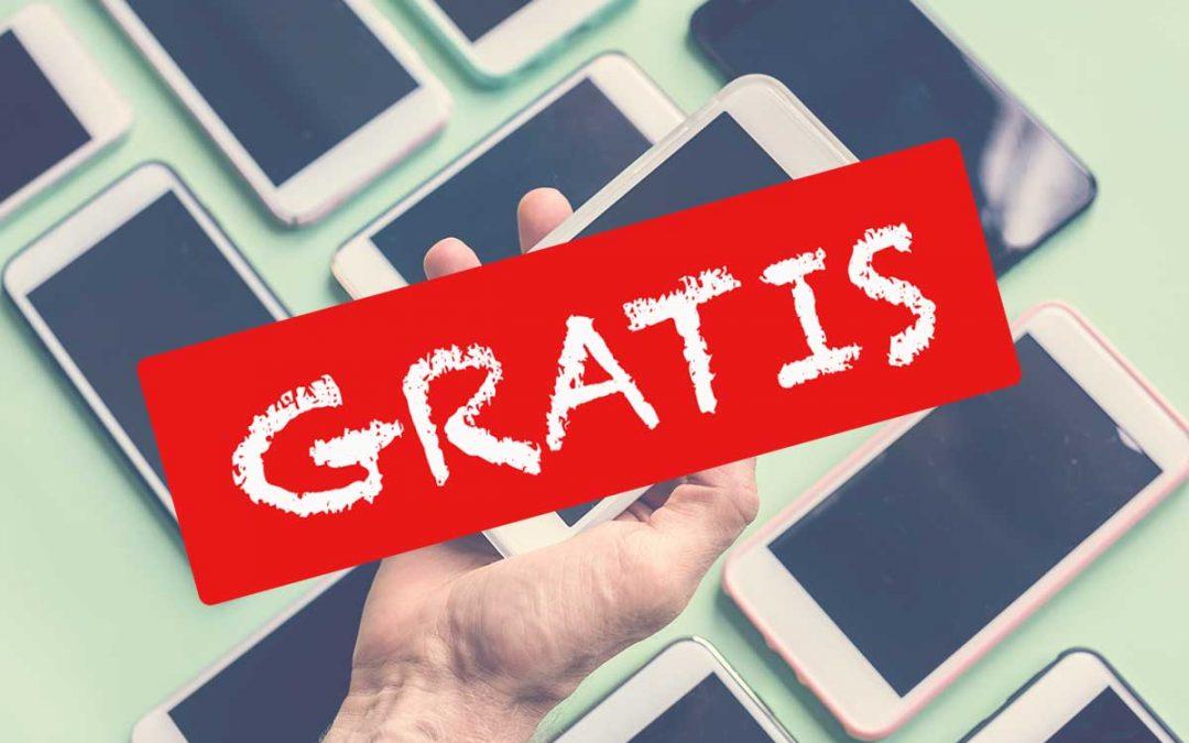 Móviles gratis con Yoigo, Vodafone, Orange y MásMóvil [Junio 2020]
