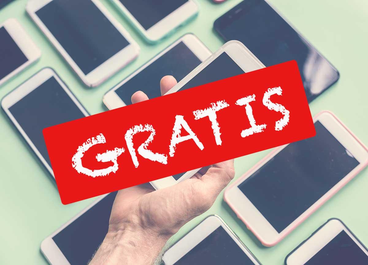 Móviles gratis Yoigo, Orange, Vodafone y MásMóvil