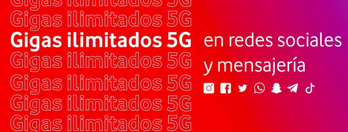 Nuevas tarifas Vodafone Yu, marzo 2020
