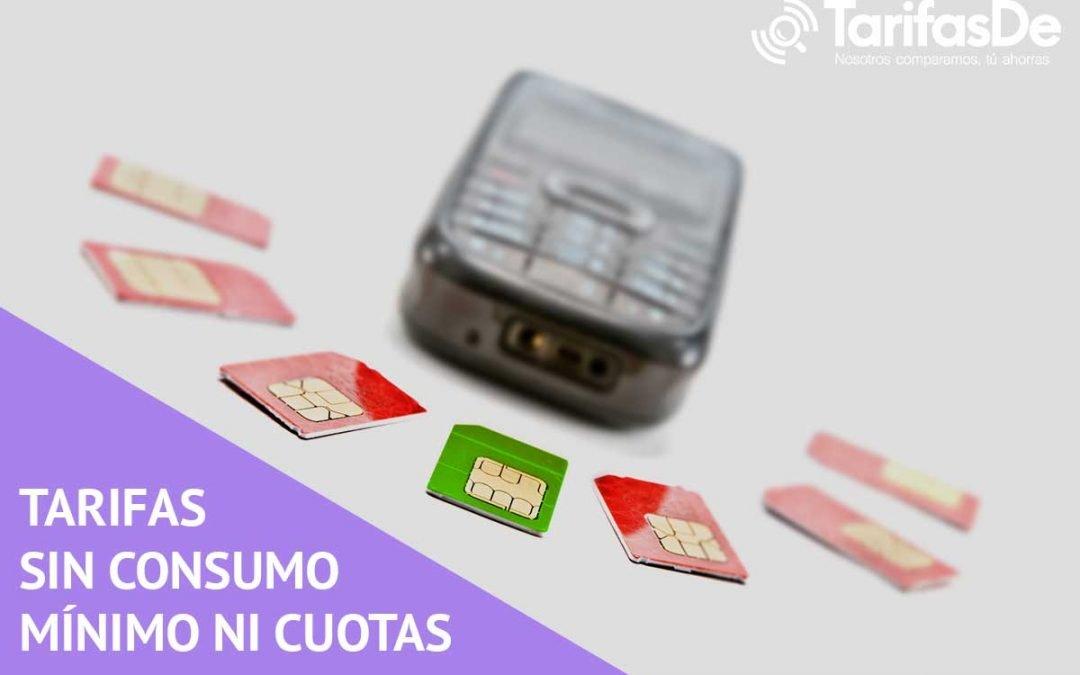 Tarifas prepago sin consumo mínimo ni cuotas mensuales