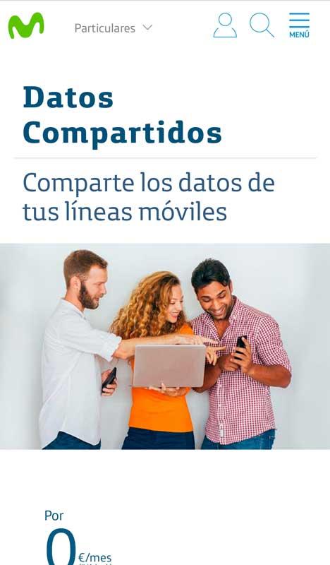 Cómo activar los datos ilimitados de Movistar, paso 1