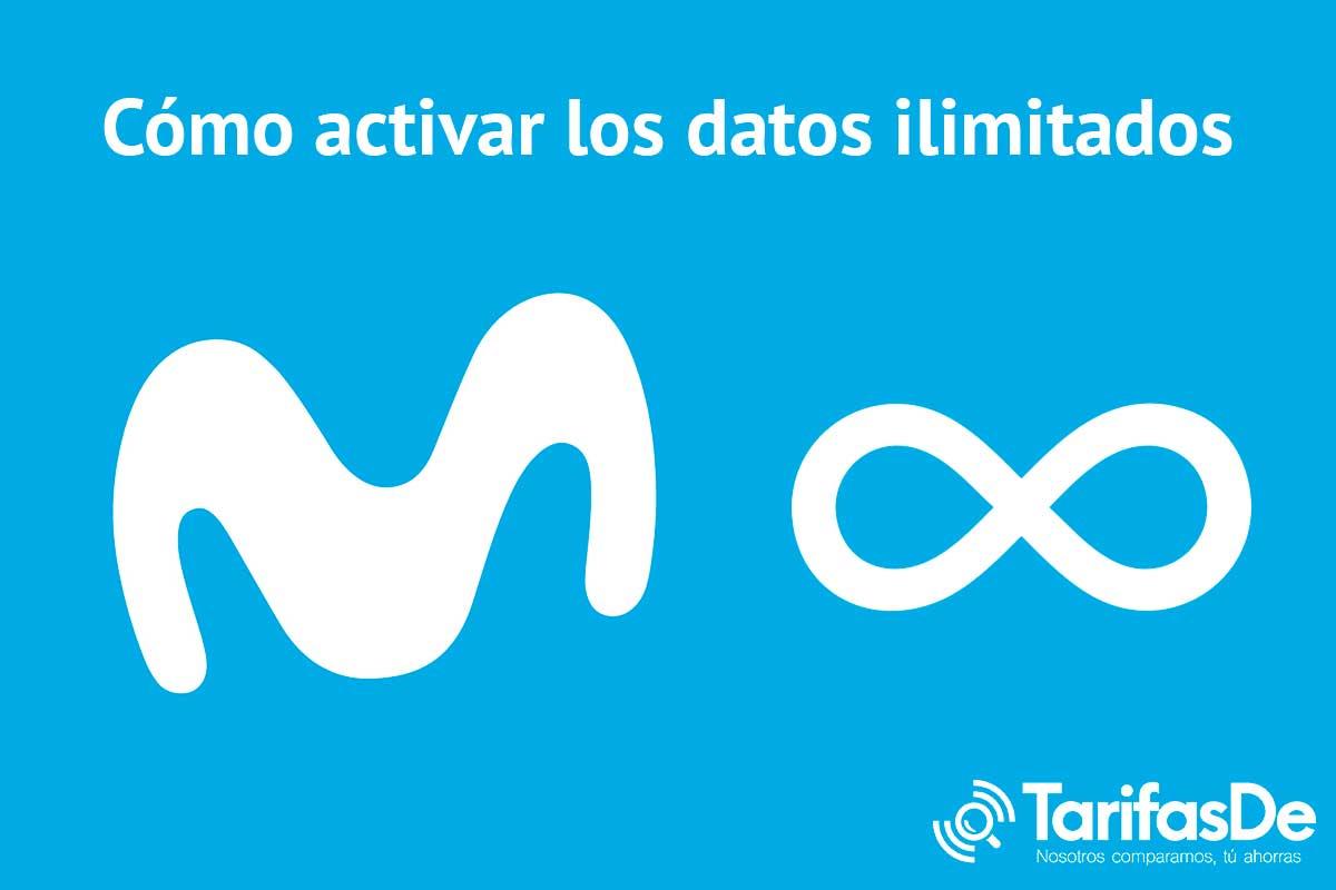 Cómo activar datos ilimitados Movistar