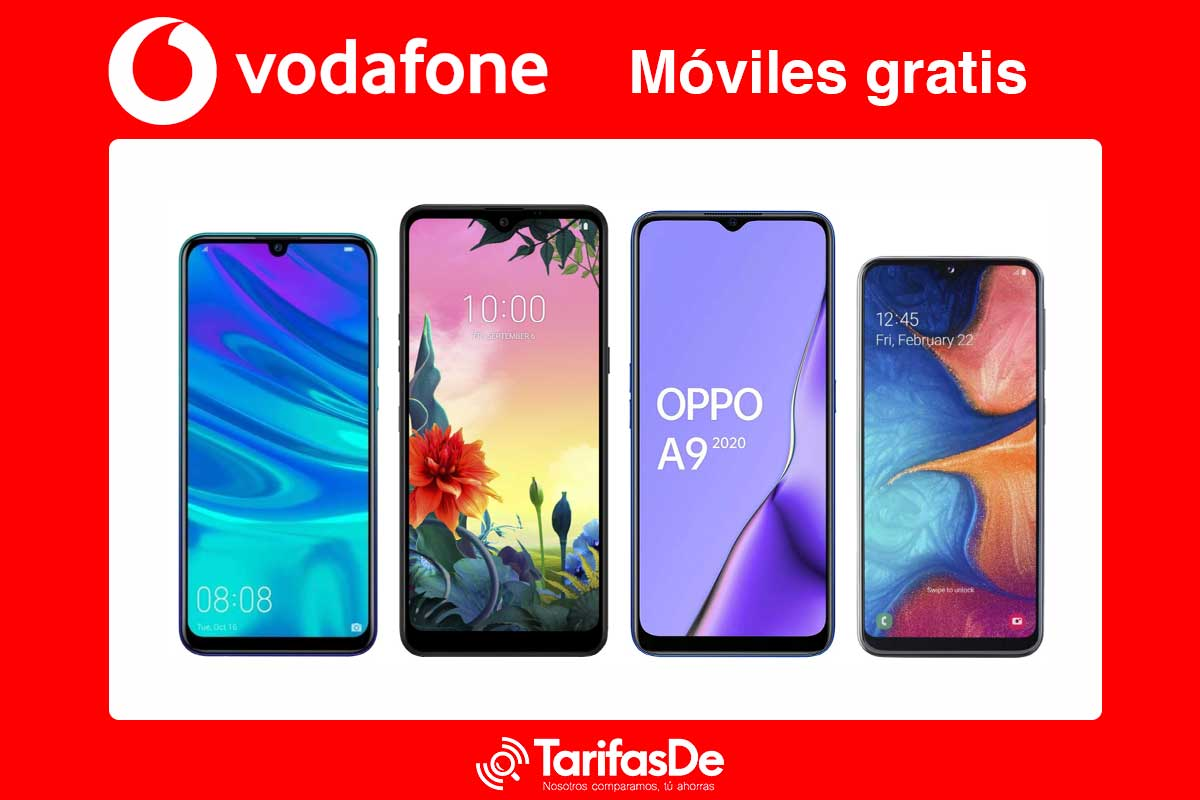 Vodafone móviles gratis, abril 2020