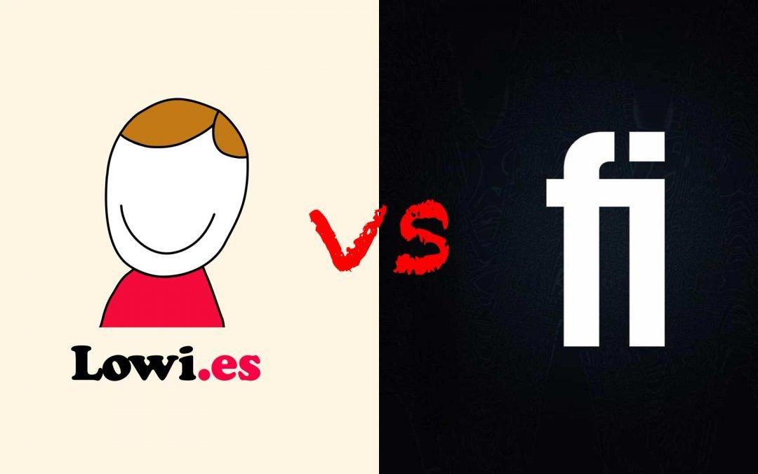 Lowi o Finetwork, ¿quién tiene las mejores tarifas?