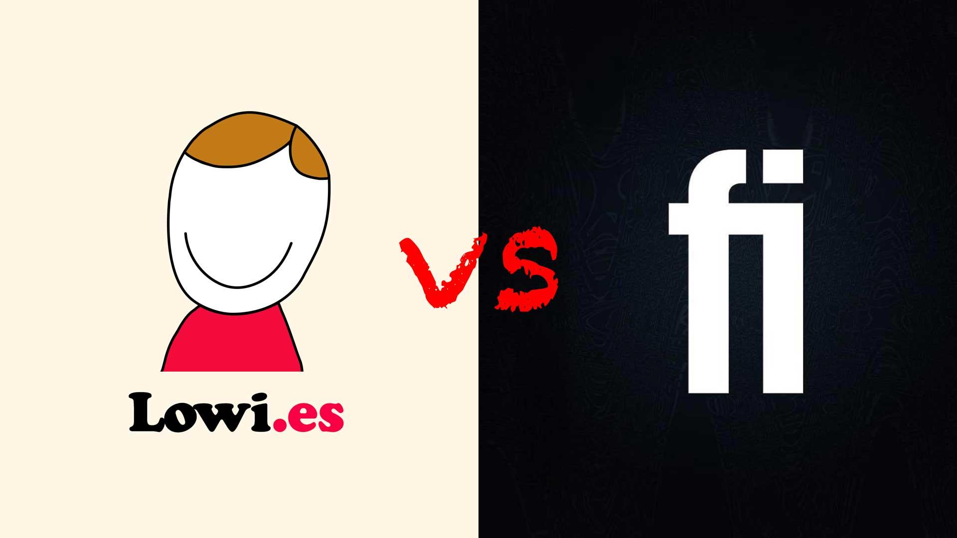 Lowi o Finetwork, ¿quién tiene mejores tarifas?