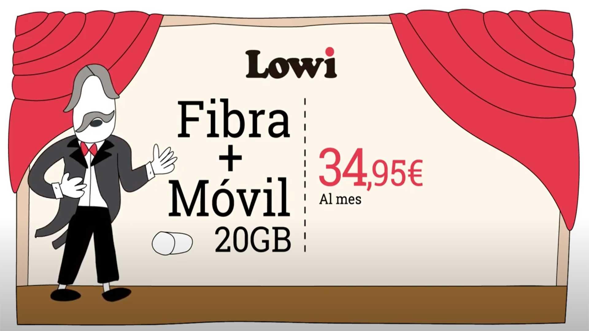 Lowi tarifa fibra y móvil barata, mayo 2020