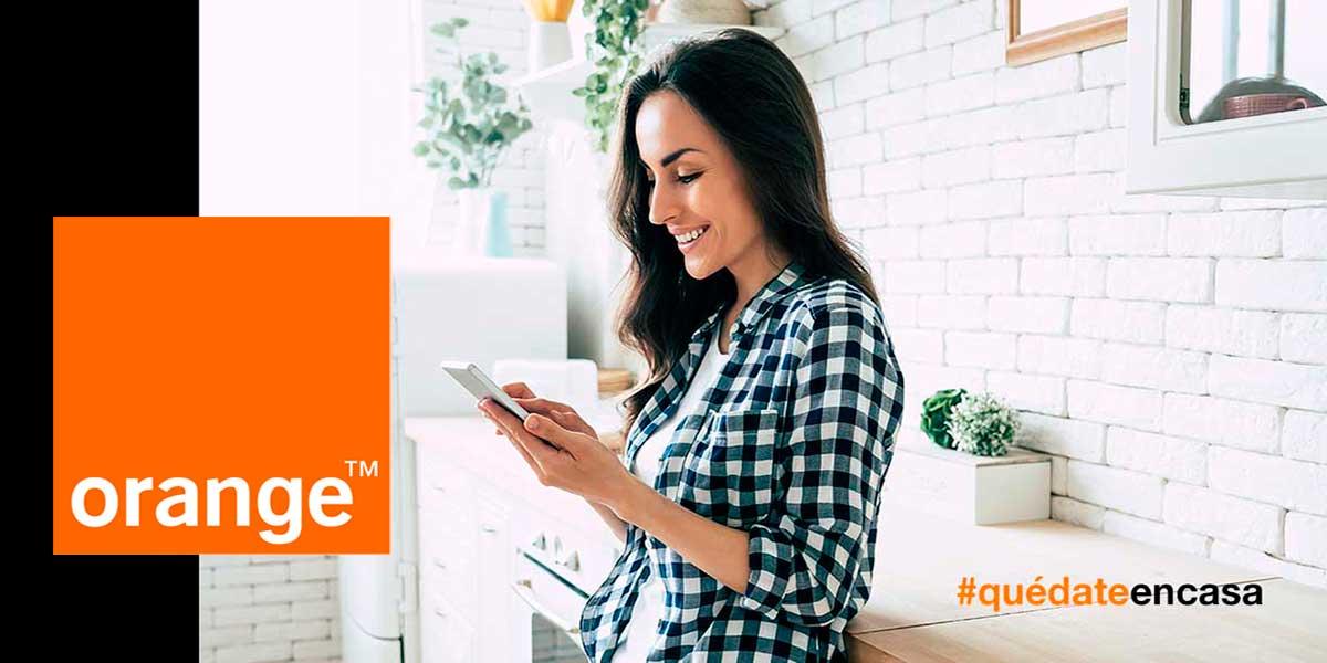 Orange mejora sus tarifas de fibra y móvil, mayo 2020
