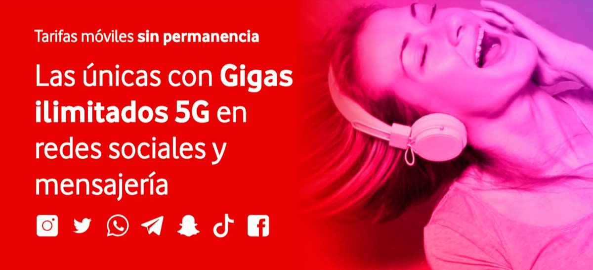 Vodafone Yu tarifas prepago