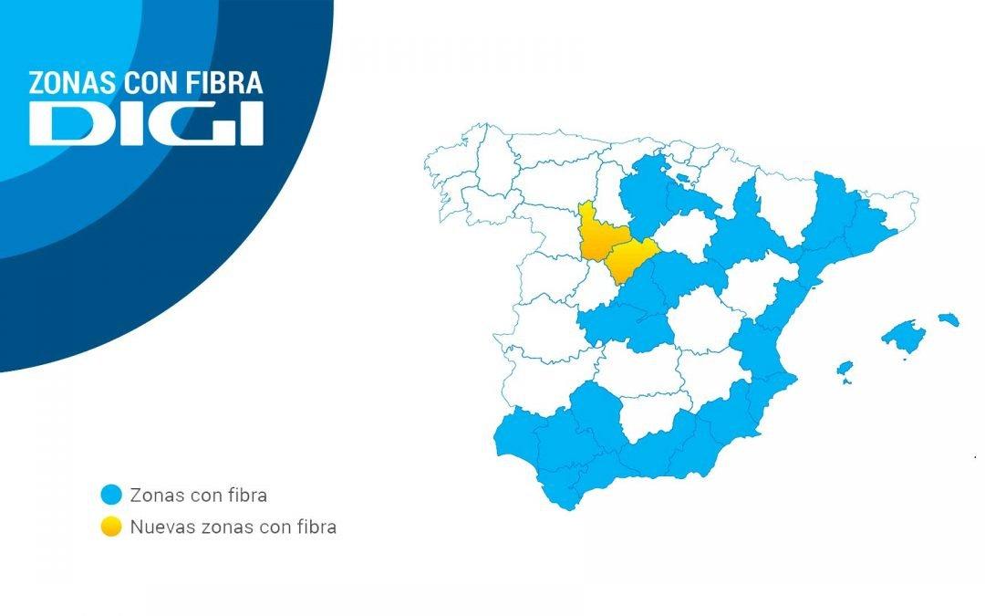 Digi extienda su huella de fibra: ya llega a 23 provincias