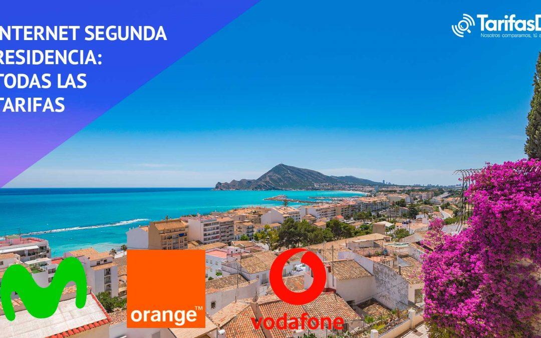 Internet segunda residencia: las tarifas de Movistar, Orange y Vodafone frente a frente