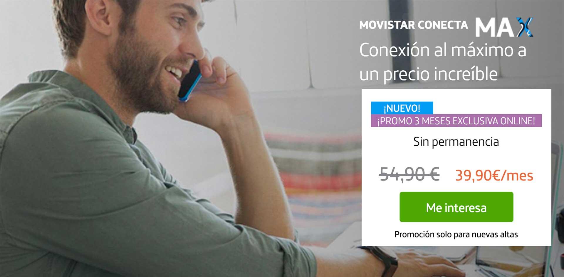 Movistar Conecta Max, detalles y letra pequeña
