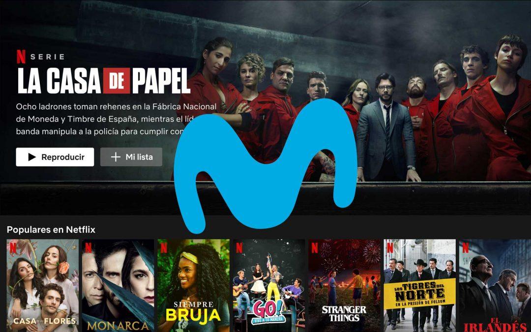 Netflix gratis durante tres meses con Movistar sin compromisos