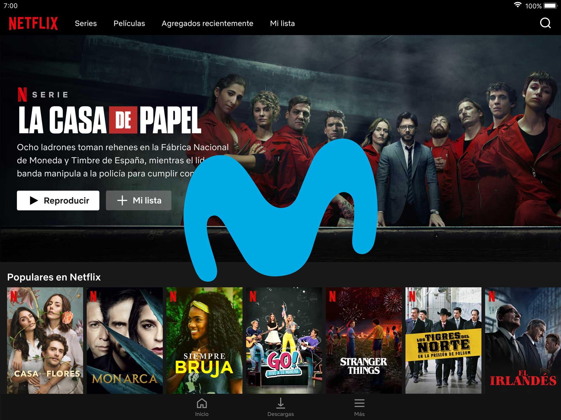 Netflix gratis promoción Movistar Fusión, junio 2020