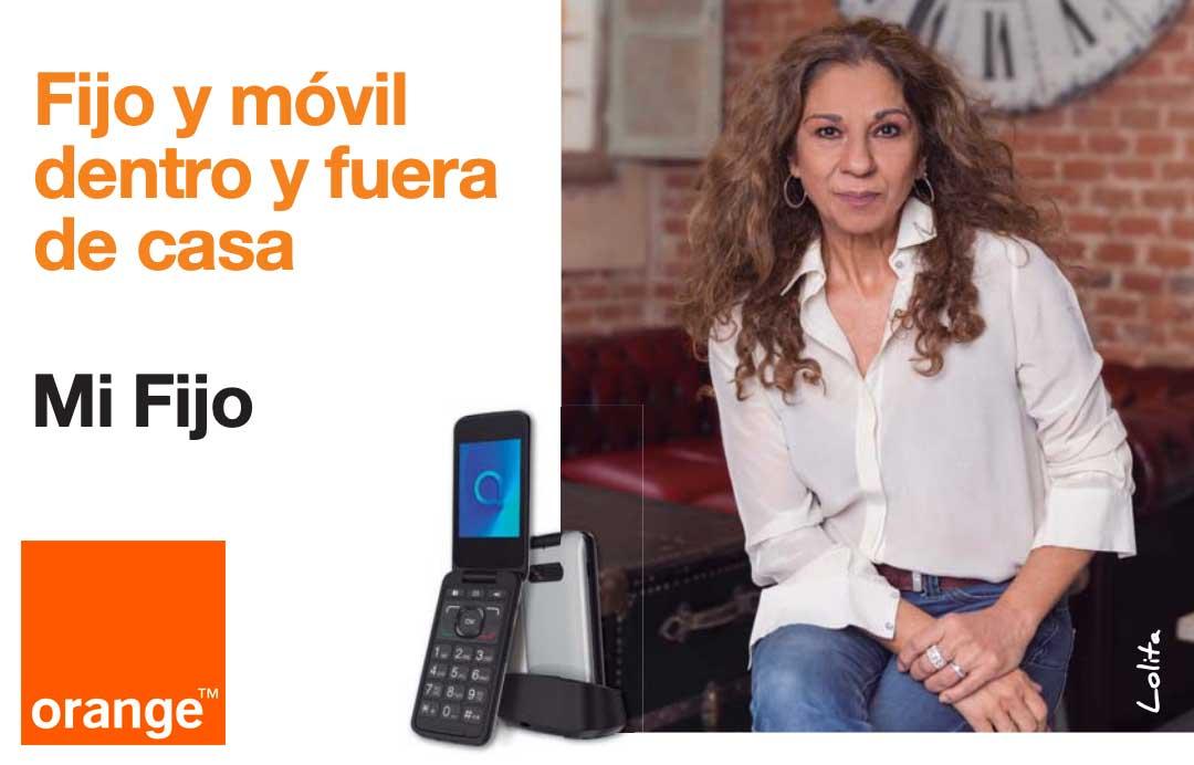 Orange Mi Fijo promoción llamadas ilimitadas