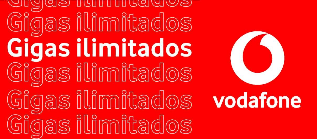 Vodafone renueva tarifas datos ilimitados, junio 2020