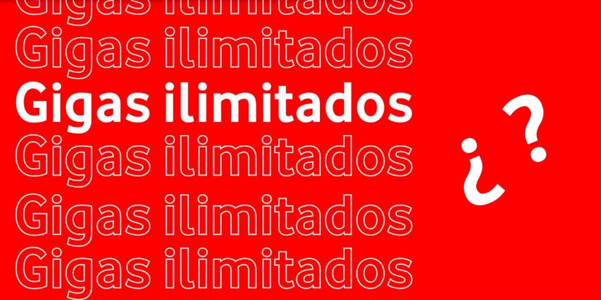 Datos ilimitados Vodafone posible timo
