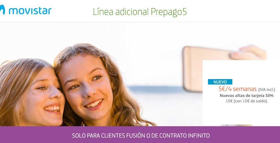 Movistar va a por los de prepago, con 5 GB por 5 euros