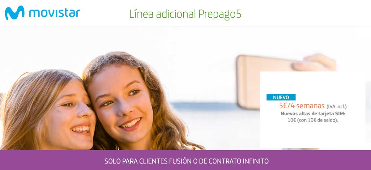 Movistar nueva tarifa prepago, julio 2020