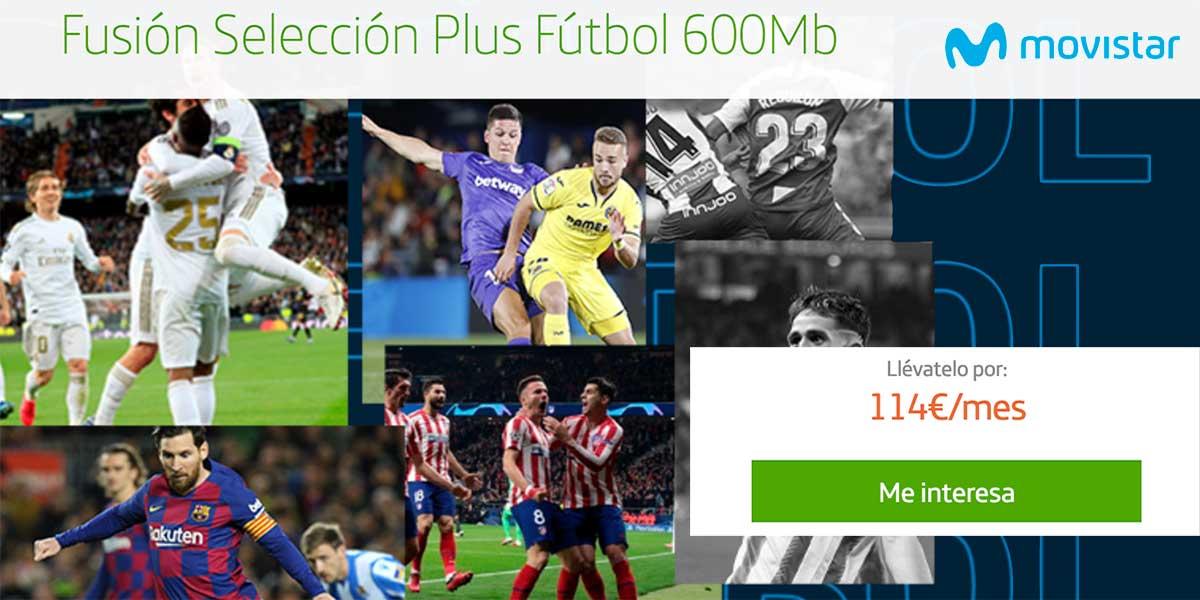 Movistar oferta todo el fútbol por 57 euros hasta 2021