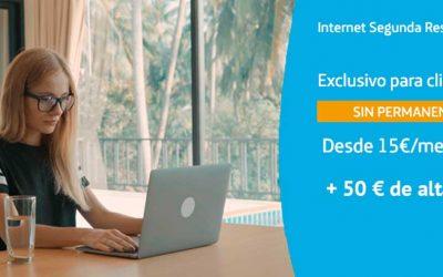 Movistar sube el precio del alta de Internet Segunda Residencia