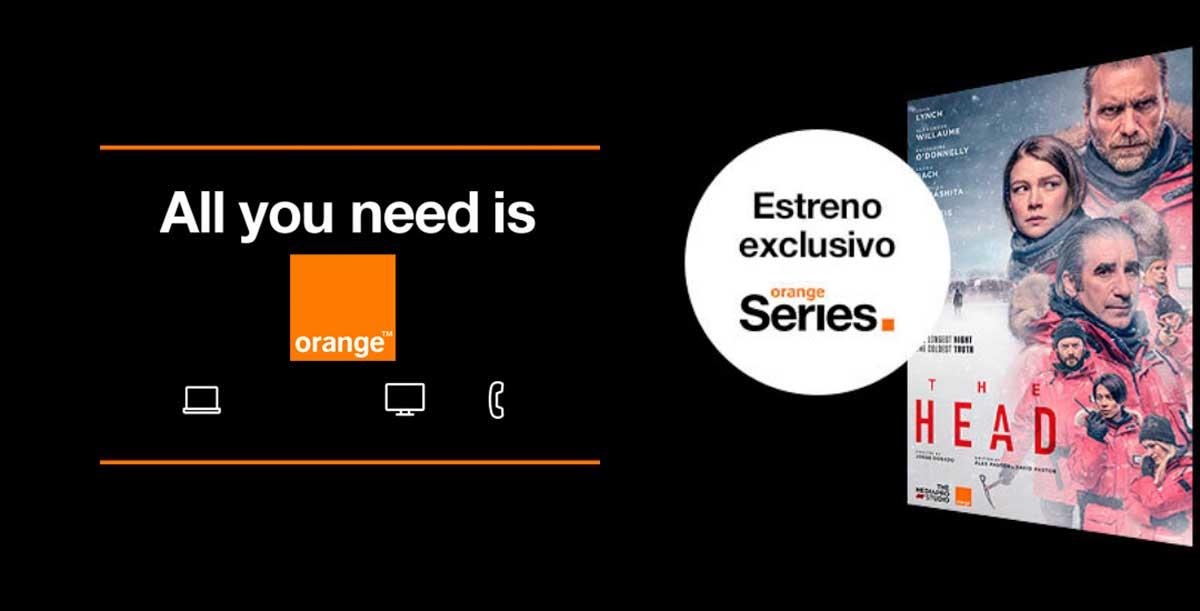 Orange pack fibra televisión