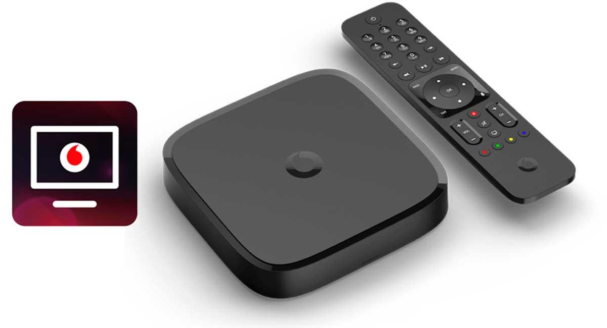 Vodafone TV alquiler deco por 3 euros al mes