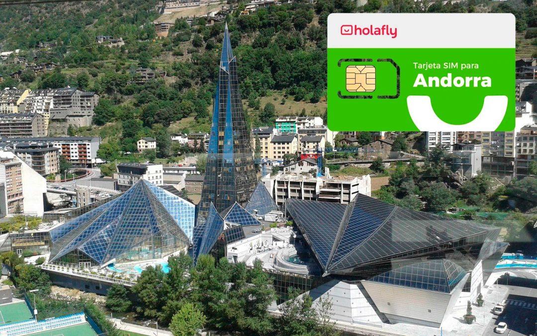 HolaFly rebaja un 20% su tarjeta SIM prepago para Andorra (sólo para compras en agosto)