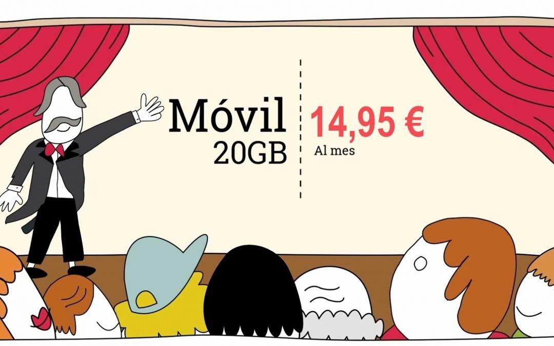 Lowi tiene ganas de guerra: vuelven los 20 GB por 14,95 euros
